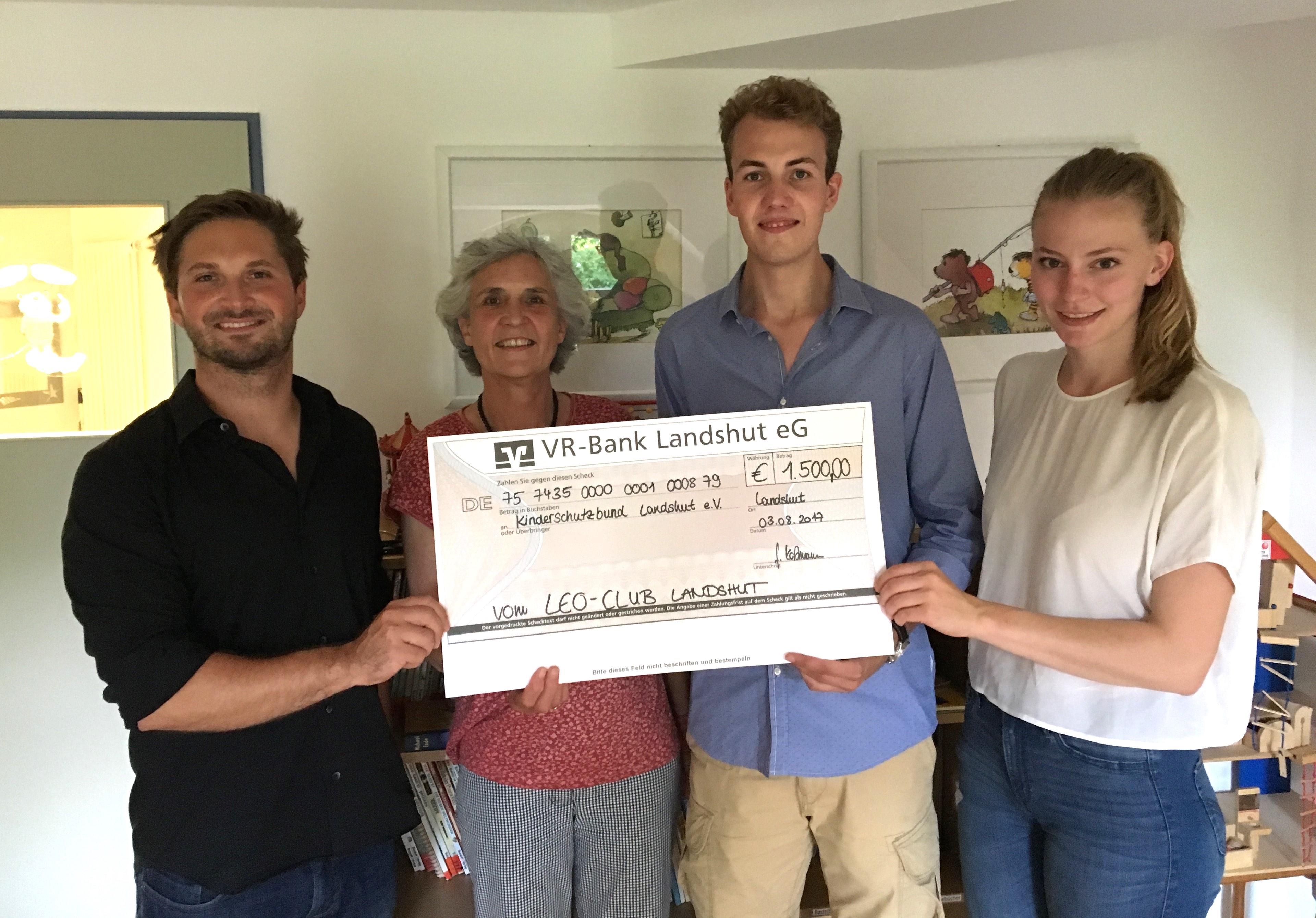 Spende Leo-Club Kinderschutzbund