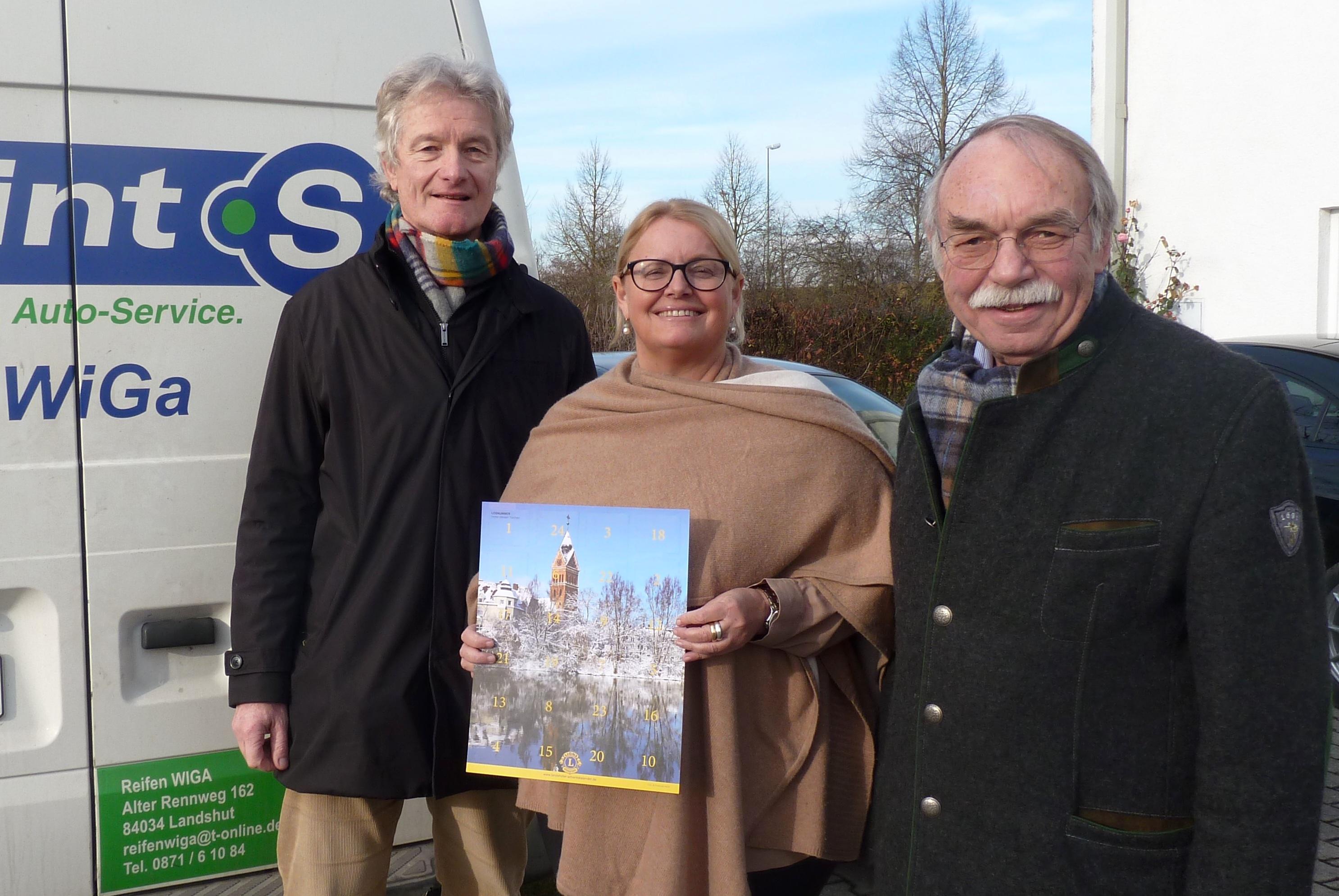 Spende Reifen Wiga Lions-Hilfswerk Landshut